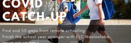 Find and fill gaps from remote schooling due to Covid-19. Tutoring at ELC Mooloolaba will help primary and secondary students finish the school year stronger.